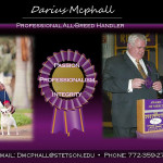 Darius McPhall - Professional All Breed Handler